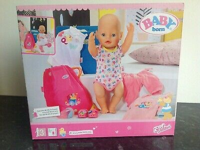 Zapf Creation Baby Born Dolls Clothes and accessories New Bumper Boxed Set
