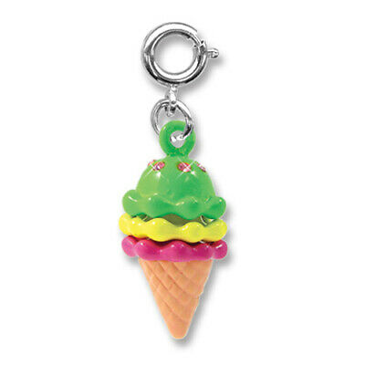 Boy Girl Kids Fun 155-Z Triple Ice Cream Cone Embroidered Iron On Patch