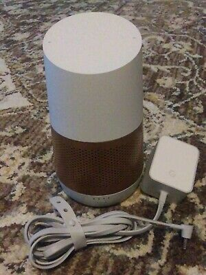 Google Home Smart Assistant - White with upgraded battery base USED
