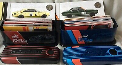 3x 2018 SET OF 14 50c COINS FORD & HOLDEN MOTORSPORT TIN COLLECTION