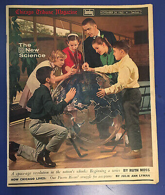 Chicago Tribune Magazine Sunday Insert November 24th 1963 Thanksgiving Holiday