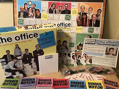 Pressman The Office Comedy Trivia Game Boardgame Complete - Rare/OOP
