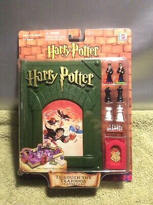 New Harry Potter Sorcerers Stone chapter game through the trapdoor Sealed 2001