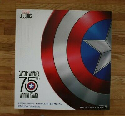 Marvel Legends Captain America 75th Anniversary Metal Shield New factory sealed
