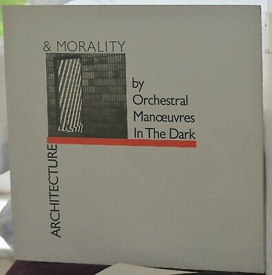 OMD-Orchestral Manoeuvres In The Dark - Architecture & Morality Grey Sleeve RARE