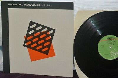 OMD - Orchestral Manoeuvres In The Dark- OMITD 1st Album 2nd Re-issue LP OVED 96