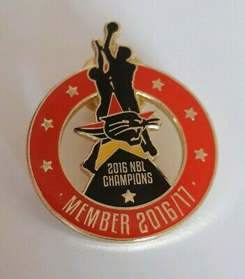 Perth Wildcats Membership Badge Pin 2016 2017
