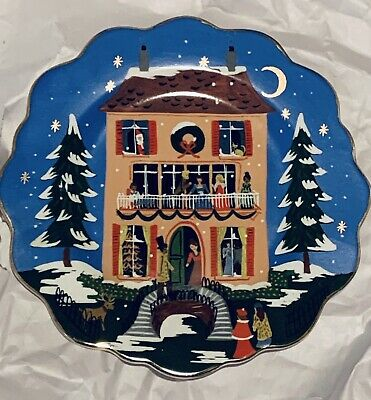 SOLD OUT - Rifle Paper Co for Anthropologie Nutcracker House Dessert Plate NWT