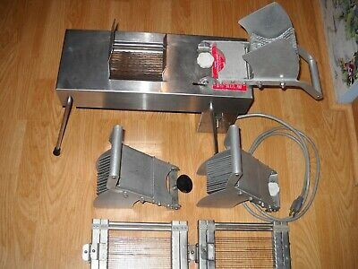 Edlund Model 350 Commercial Tomato Slicer With Extra Blades, Cutters Pushers