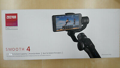 Zhiyun Smooth 4 Phone Gimbal Stabilizer New Version @ new and boxed