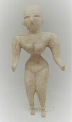 Circa 2200-1800Bce Ancient Indus Valley Harappan Terracotta Fertility Figure