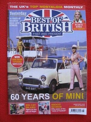 Best of British 'Past & Present' Magazine - August 2019.