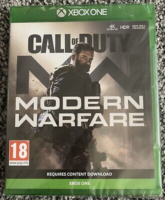 Xbox One Game - Call of Duty Modern Warfare Played Once Xmas Gift VGC Free UK PP