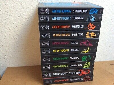 "Anthony Horowitz ""Alex Rider""  The Complete Missions  Collection 10 Books  Set"