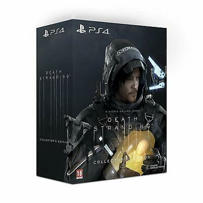 DEATH STRANDING Collector's Limited Edition PS4 - NUOVO - Pal EU no Metal Gear