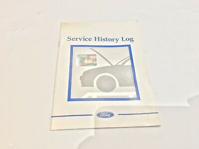 Ford Fiesta SERVICE HISTORY LOG UN-USED Not Stamped - 2002/2003