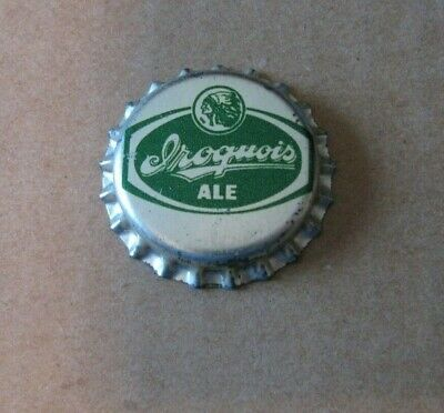 Unused Iroquois Ale Vintage Pl Beer Cap Buffalo New York Crown Collectible