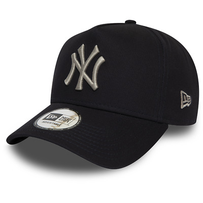 New Era New York Yankees Baseball Cap.9Forty Mlb Navy League A Frame Hat 9W2 2