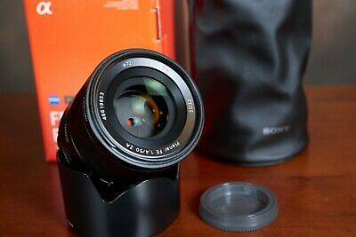 Sony Planar T 50mm F/1.4 FE ZA Lens w/box and UV filter Excellent
