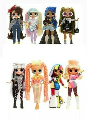 "16 LOL Surprise OMG 10"" Fashion Dolls New In Hand Wave 1 & 2 Sets Series 1 and 2"