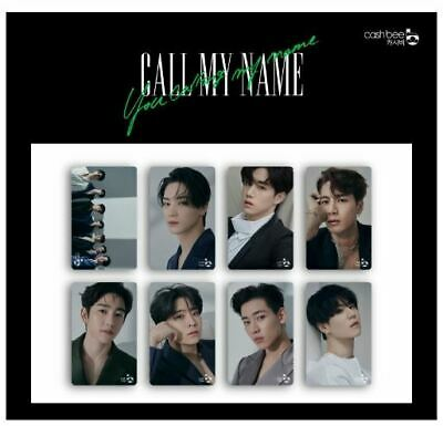 Got7 Official Goods Call My Name Cashbee Transportation Card Photocard Sealed