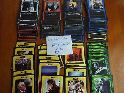 doctor who 6TH MMG  trading cards lot bundle 102 all different