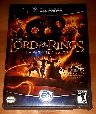 The Lord of the Rings: The Third Age for Nintendo GameCube - Complete /w Manual