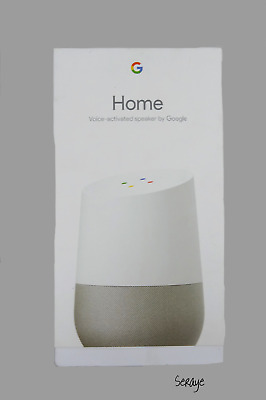 Google Home Smart Speaker with Google Assistant Brand New Minor Package Damage