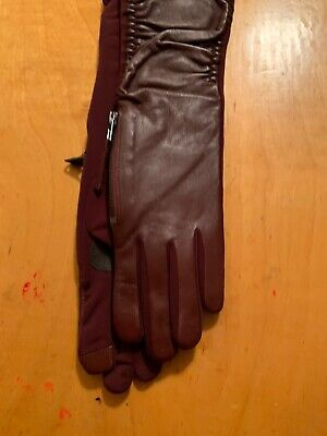$99  Echo Women's Maroon Thinsulate Color Gloves Medium #17a