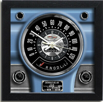 Car Speedometer Wall Clock - Chevrolet Bel Air | The Perfect Christmas Gift