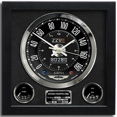 Car Speedometer Wall Clock - Aston Martin DB6 | The Perfect Christmas Gift