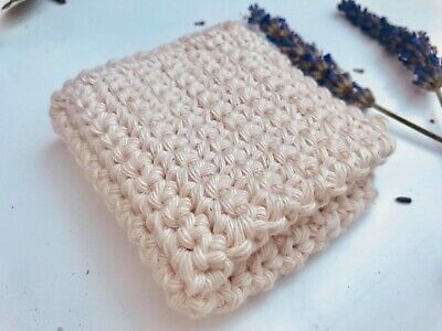 Natural Cotton Face Baby Soft Cloth Washable Handmade Un-dyed Natural For Mum