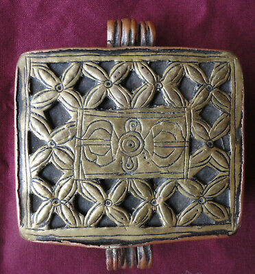 An Outstanding Antique Buddhist Reliquary Box From Tibet