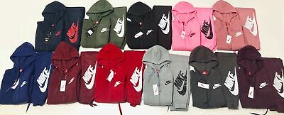 Nike Sweat Suit Women's Brand New Full Zip Hoodie + Joggers Complete Set