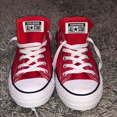 12 New CONVERSE CHUCK TAYLOR ALL STAR HIGH Casino Red Canvas Mono CT AS 152702C