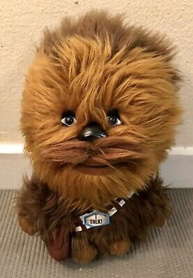 Star Wars Chewbacca Plush Talking Chewy Furry 2012 LucasFilm Just Play Toy 9""