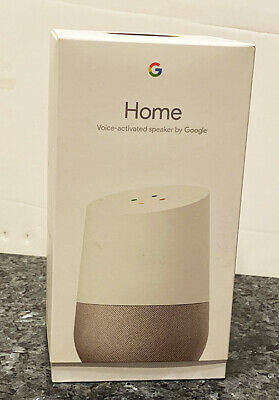 Google Home Personal Assistant Voice Activated Speaker - White Slate NEW