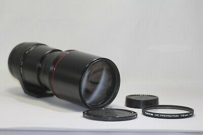 AS IS Tokina AT-X AF 400mm f/5.6 SD Close Focus Lens for Nikon