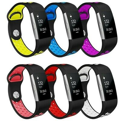 Fitbit Charge 2 Replacement Watch Bands Silicone Sport Strap Wrist Band GOOD