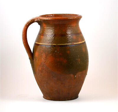 A nice large 16th cent terracotta jug-From a shipwreck of the Spanish Armada