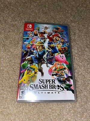 New Sealed Super Smash Bros. Ultimate (Nintendo Switch, 2018)