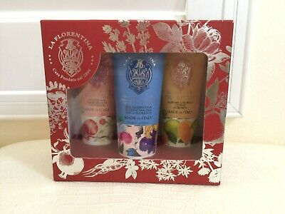 La Florentina Hand Cream 3ps Gift Set | Gift set, Hand cream