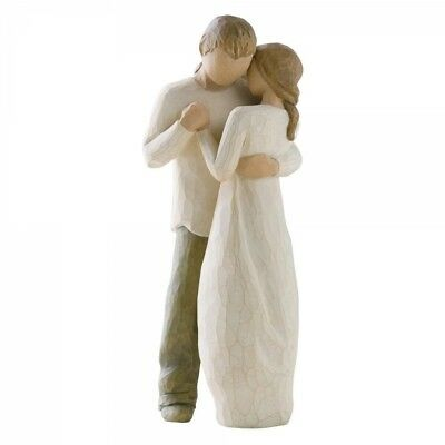 Willow Tree Figurine : 26121 Promise :  'Hold dear the promise of love'