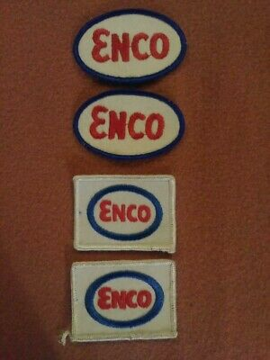 Lot Of 8 Automotive Patches Enco Champion Sears Ramco Narsa Nice Look