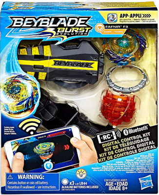 BEYBLADE Burst Evolution Digital Control Kit Fafnir F3 Remote Control Bluetooth