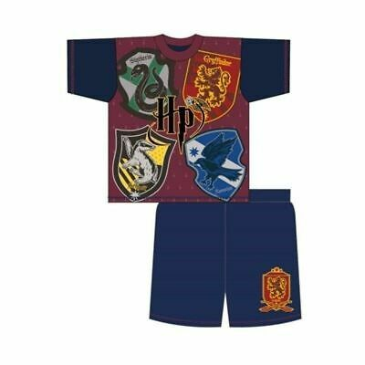 Girls Boys Pyjamas Harry Potter nightwear nightie sleepwear short sleeve NEW