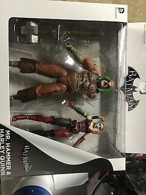 DC Collectibles Batman: Arkham City: Mr. Hammer and Harley Quinn Action Figure