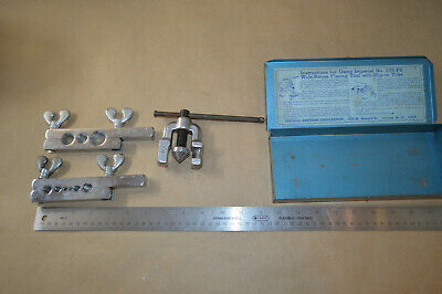 Imperial Tubing Tool Kit Eastman Flare USA #2157
