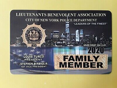 """1  2020  Lba  Family Member  Card "" Not  Cea Sba Dea Pba  Card"