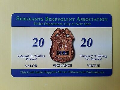 "1  Brand New 2020  Sba Pba  Card "" Not  Cea  Lba Dea Pba Card"